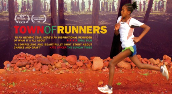 Town of Runners Poster